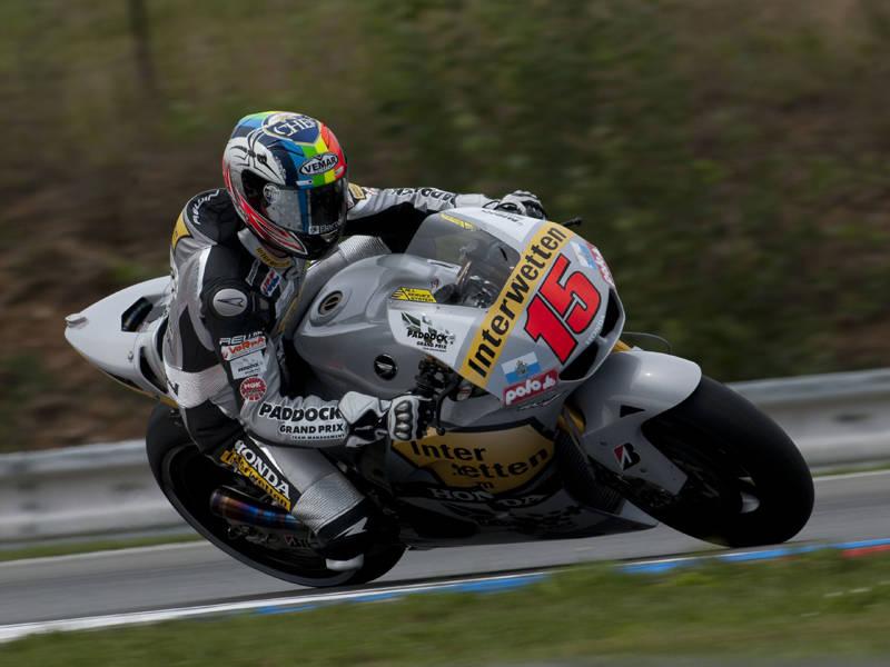 Alex veloce nelle qualifiche di Brno 3
