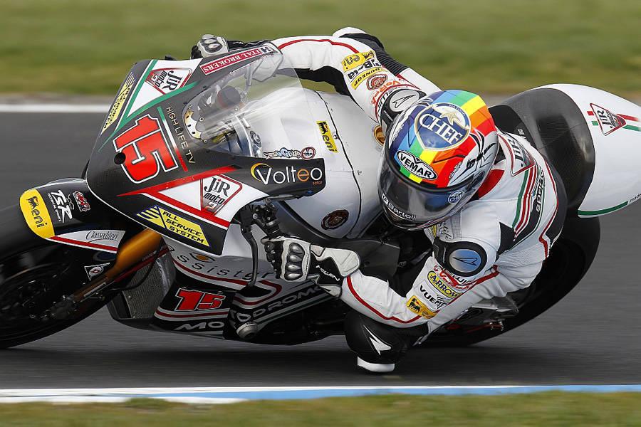 Alex veloce anche sull'asfalto bagnato di Estoril 3
