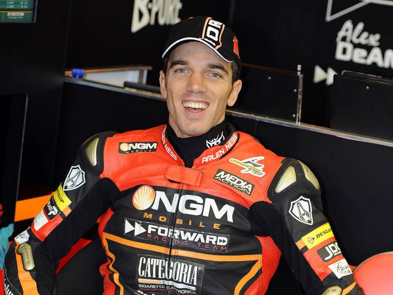 Alex su Ducati a Laguna Seca 3