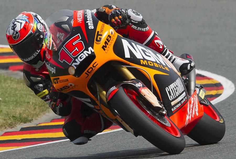 Alex chiude quinto al Sachsenring 3