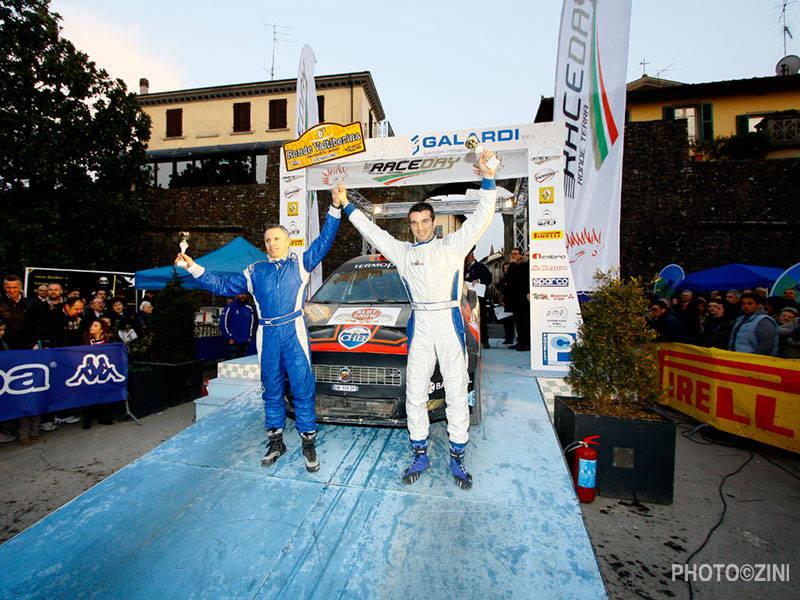 Vittoria di classe al debutto con l'Abarth Grande Punto S2000 3