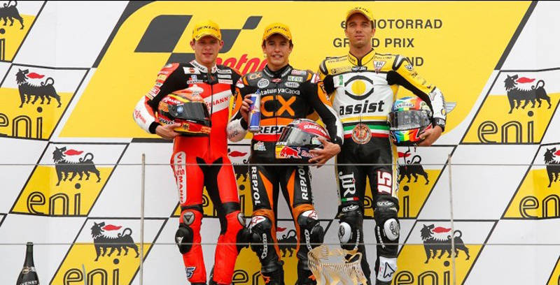 E' podio per Alex al Sachsenring 3