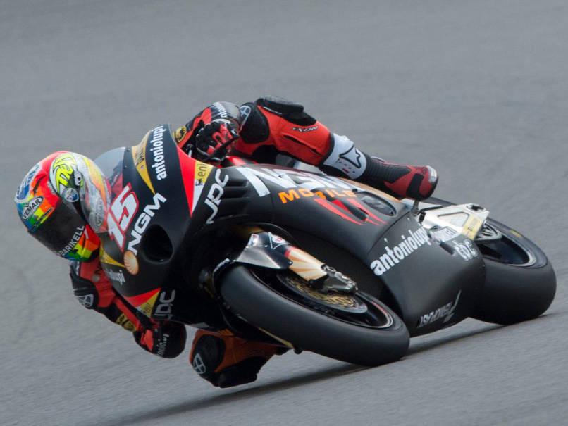 Alex veloce sull'asfalto asciutto del Sachsenring 3