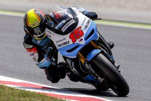 Alex migliora i suoi tempi nelle Q1 del Gp di Catalunya