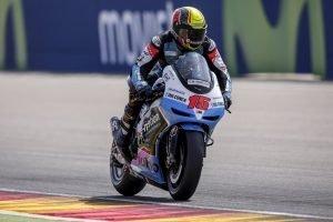 Alex migliora i tempi nelle Q1 del Gp di Aragon