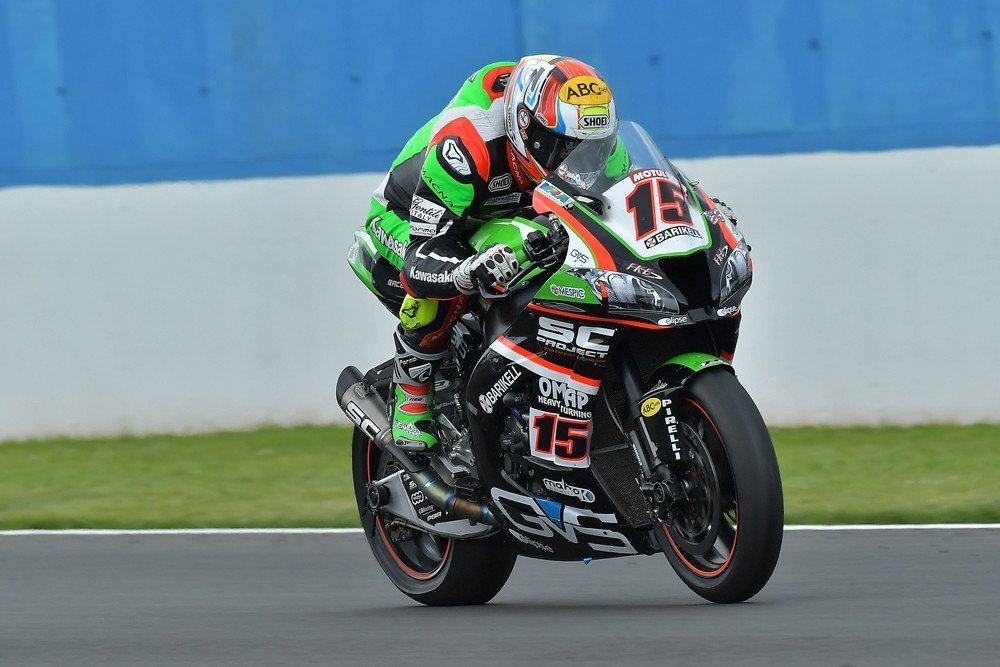 SBK UK Round: Gara1