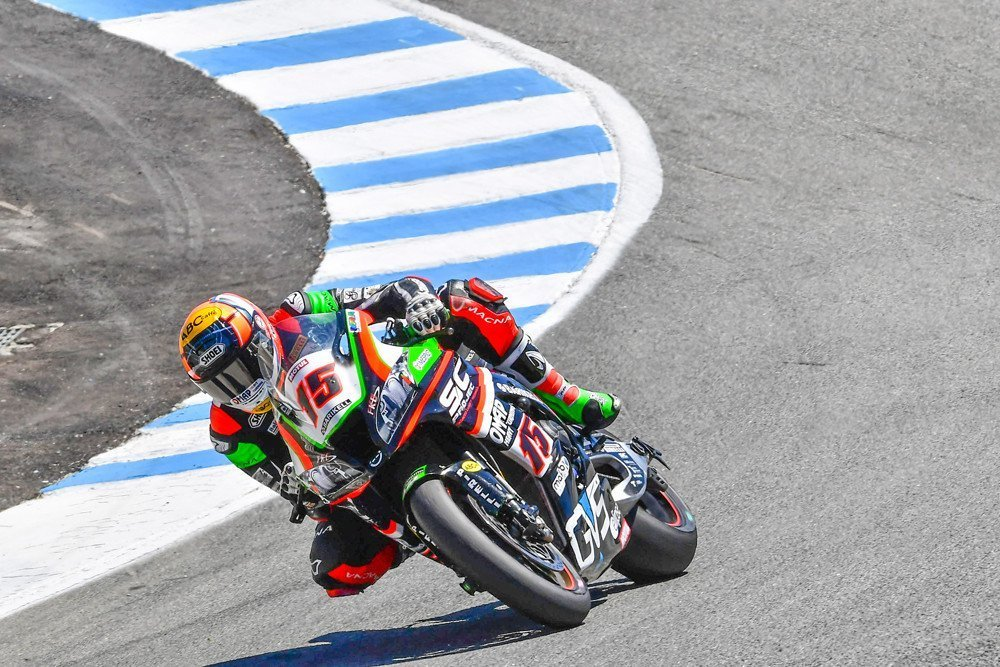 SBK US Round: Alex 13° in Gara2