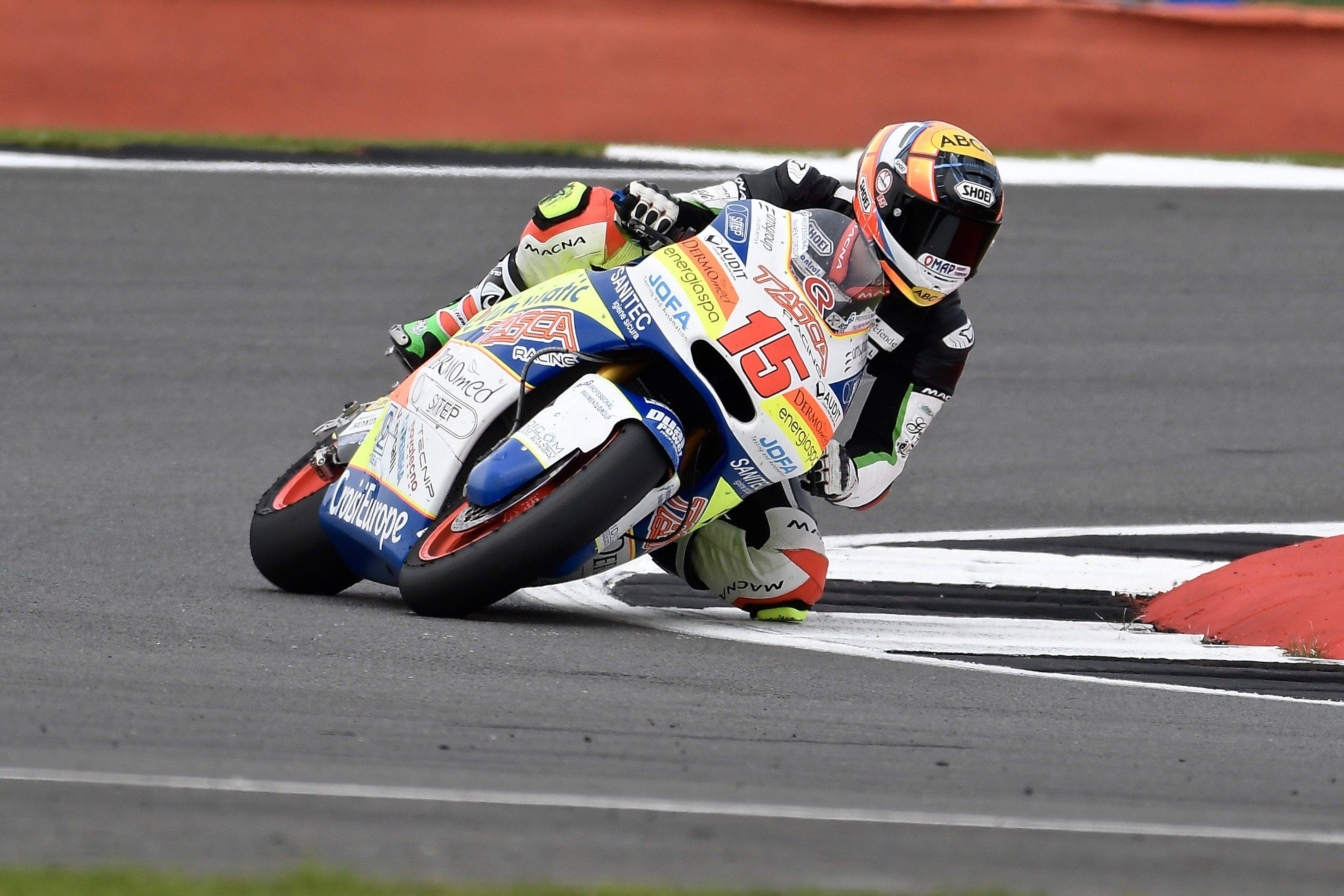 Alex non sarà al via del German Round con il Pedercini Racing SC-Project Team
