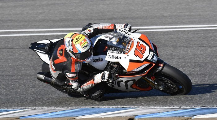Jerez Round, De Angelis sfiora la top ten in Gara1