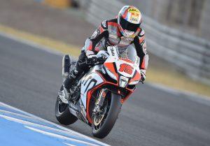 Jerez Round, una caduta per Alex De Angelis in Gara2