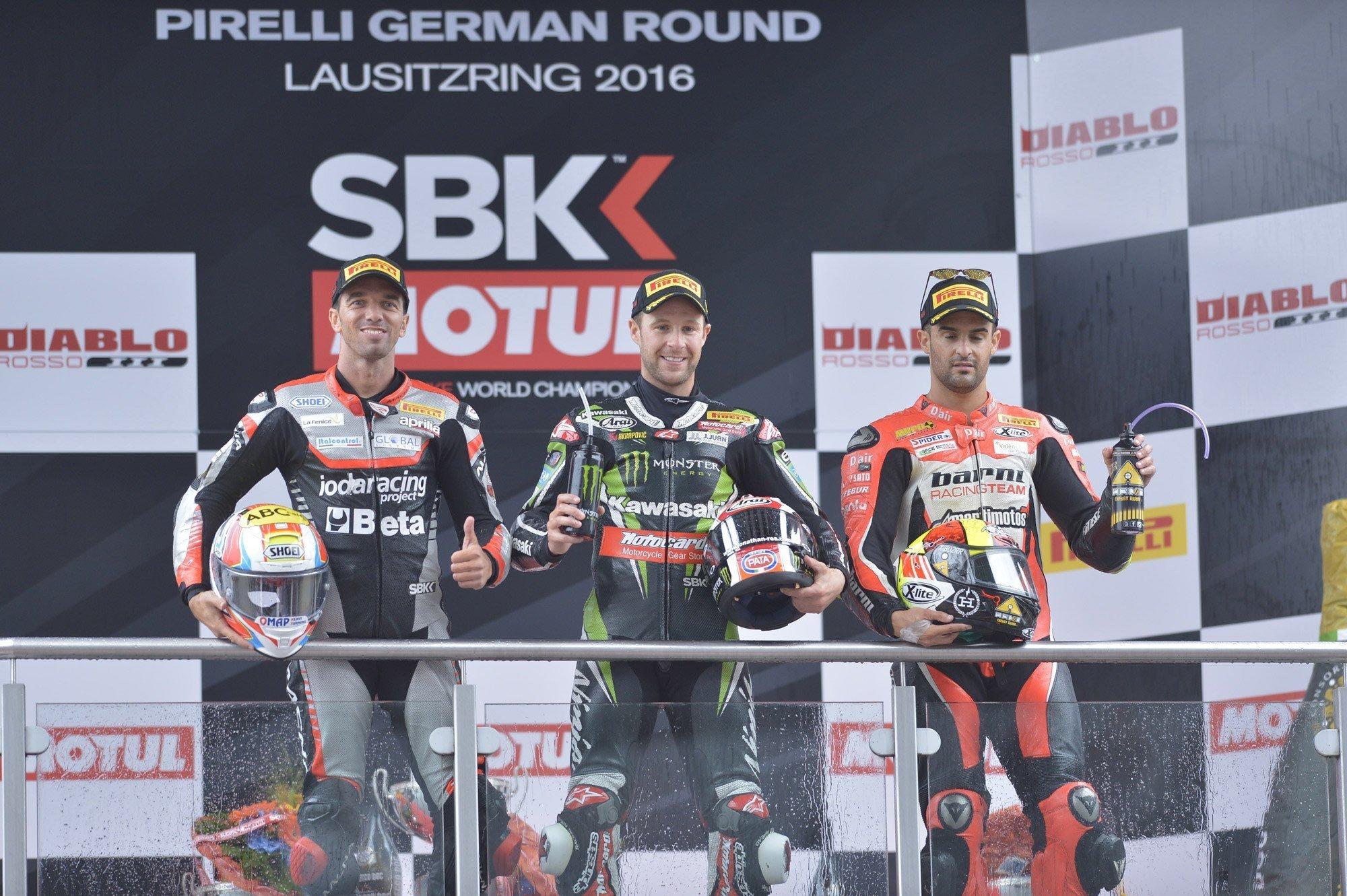 German Round, Gara2: Alex De Angelis conquista un fantastico secondo posto