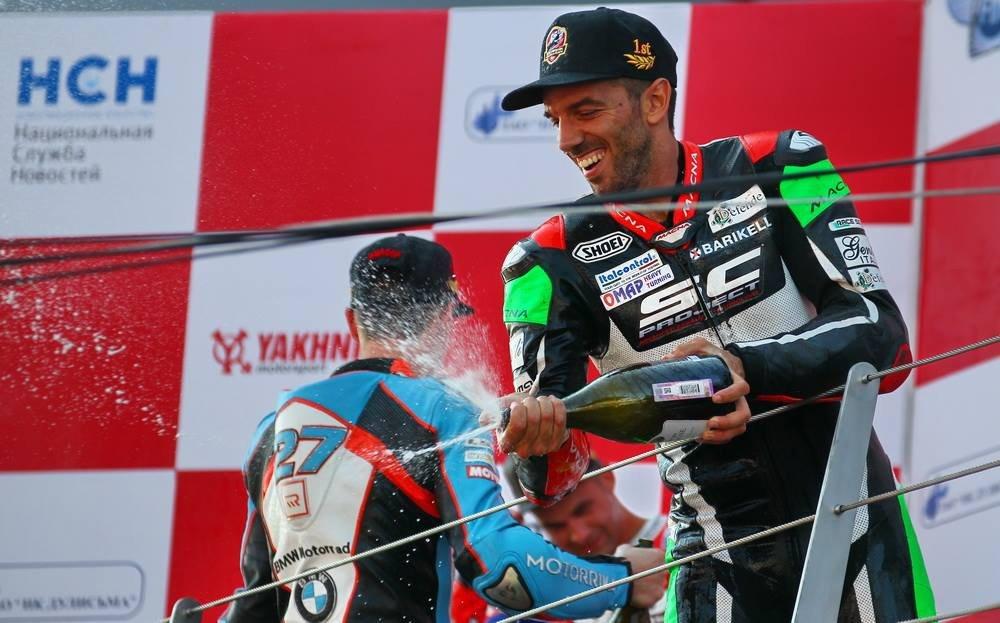 Alex De Angelis trionfa nella Governor's Cup sul Moscow Circuit