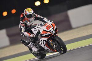 Qatar Round, De Angelis il più veloce in pista
