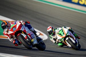 #ValenciaGP #MotoE Race. Double TOP 10 finish for Octo Pramac MotoE in Race1 at Valencia